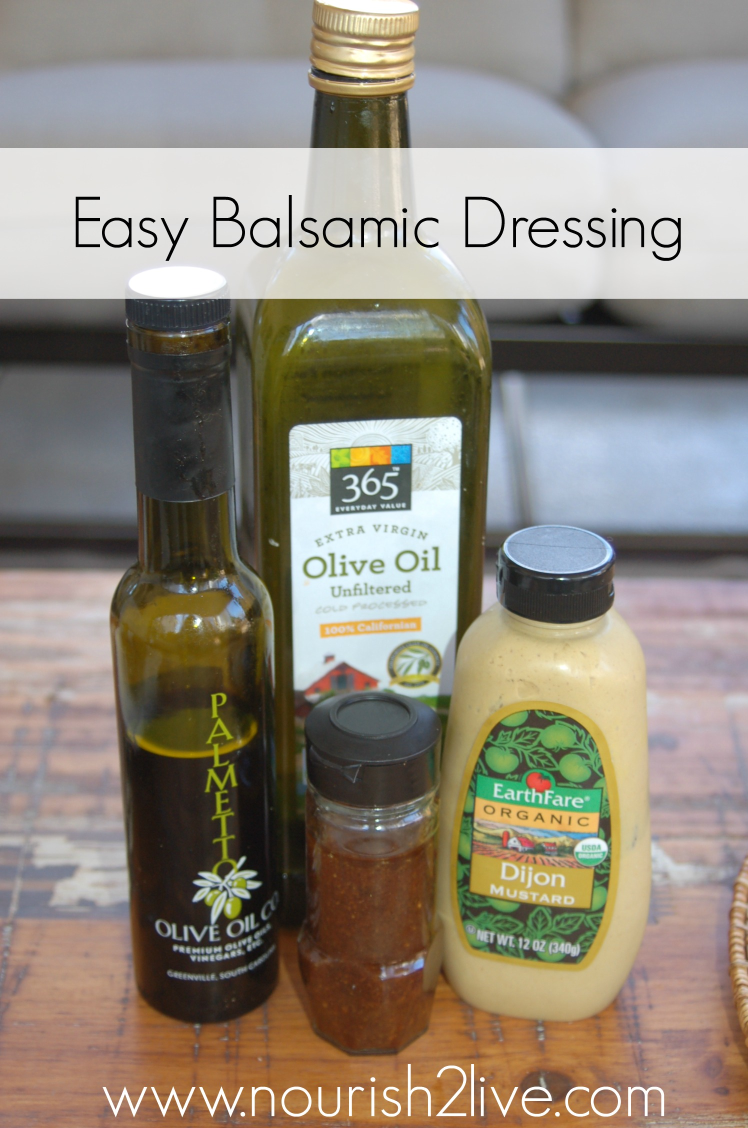 Easy Balsamic Dressing