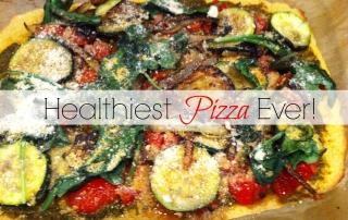 healthiest pizza